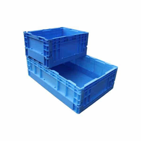 collapsible pallet boxes plastic