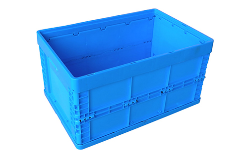 collapsible plastic basket