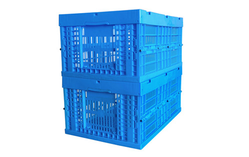 collapsible plastic crates for storage