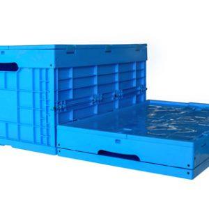 collapsible plastic folding bin