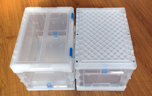 collapsible plastic storage boxes with lids