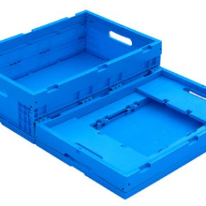 collapsible storage containers with lids