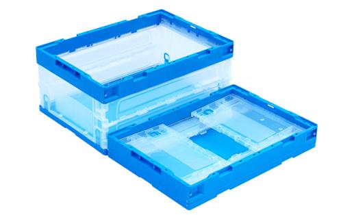 collapsible storage crates plastic