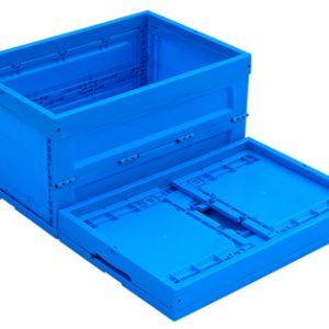 folding plastic crates heavy duty