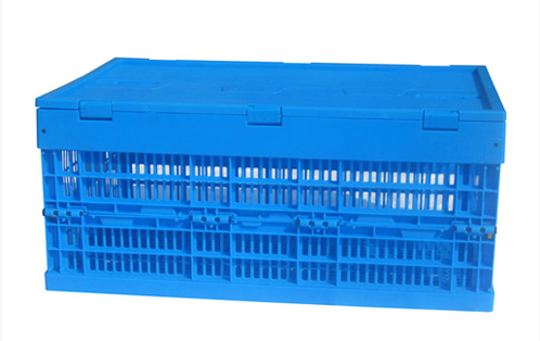 folding storage bins