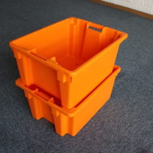 nested and stacked containers