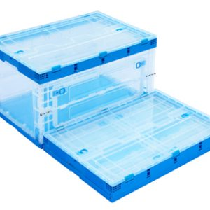 plastic folding box folding box plastic