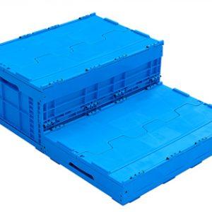 snap box folding crate