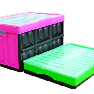 stackable folding crate