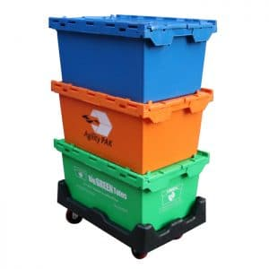 80 ltr plastic storage boxes with lids