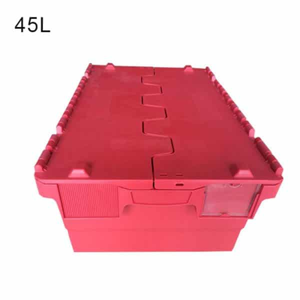 white plastic storage box